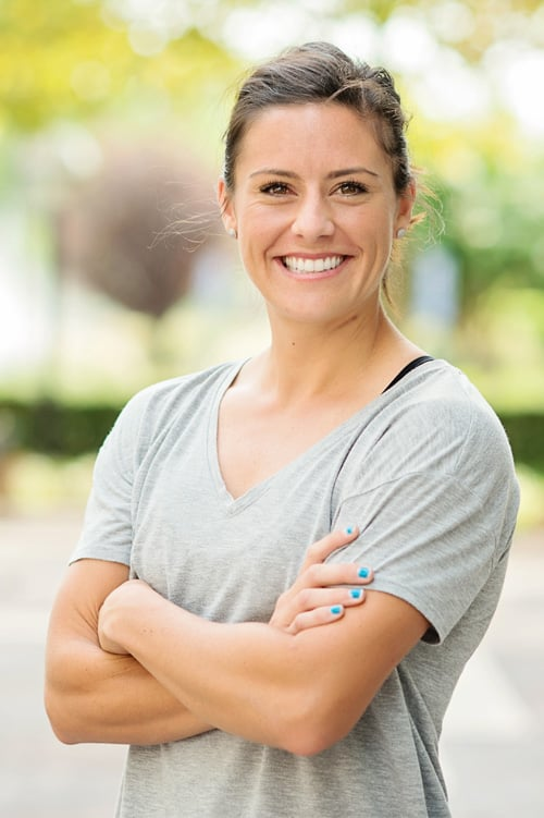 Professional soccer player, Alie Krieger, used lingual braces for her orthodontic treatment